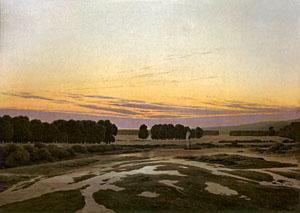 Caspar David Friedrich - 1832 - Das Grosse Gehege (Ostragehege)