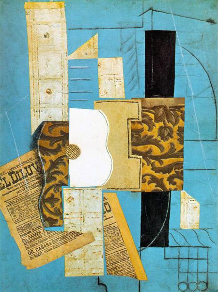 Pablo Picasso - Guitar (1913)