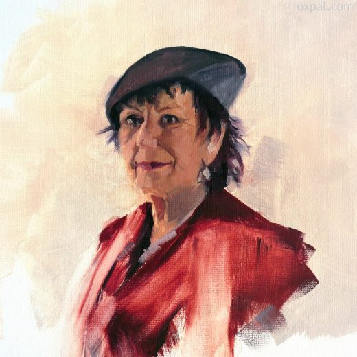 Joske oil painting portrait