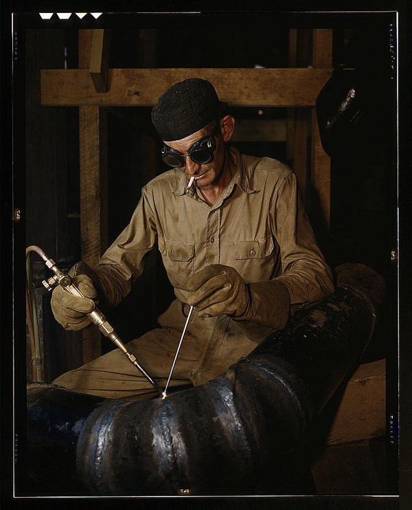 Gas welding (1942), Library of Congress