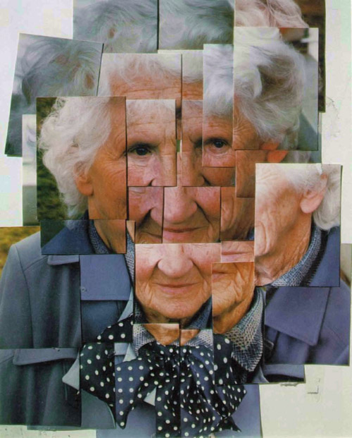 David Hockney - 'Mother I' (1985) - photo collage