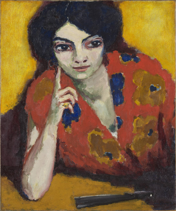 Kees Van Dongen - 'A Finger on her Cheek' (1910)
