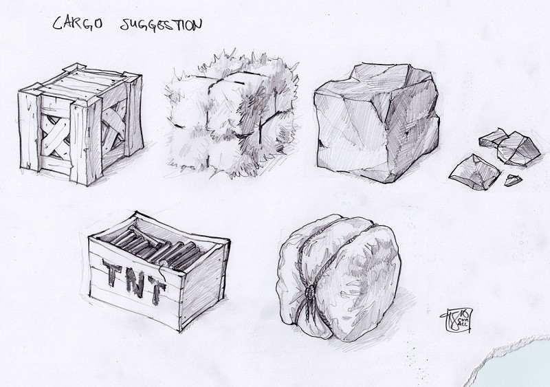 Concept Pencil - Various Blocks