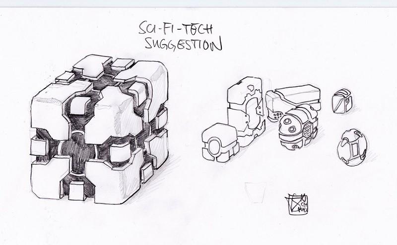 Concept Sci-fi Style.