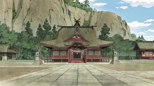 Katanagatari - Woodblock Style Background.