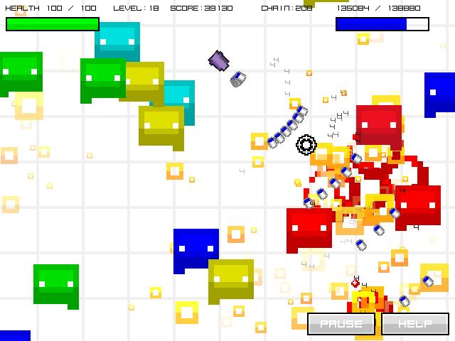 Oshiyoseru - gold - game screenshot