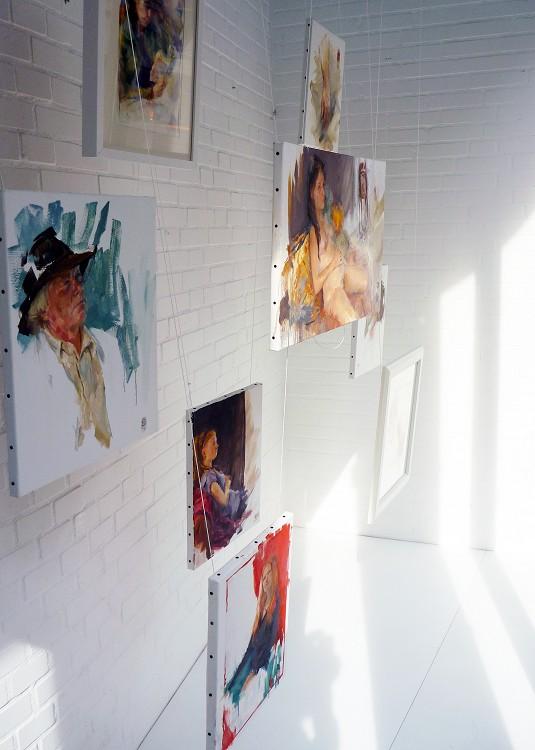 Yoga Lab Art display Amsterdam