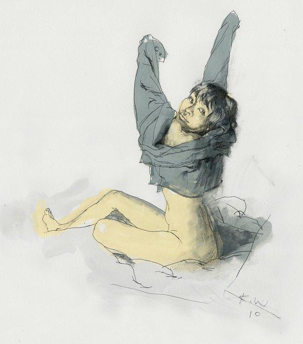Kent Williams - Silkbook Drawing 6