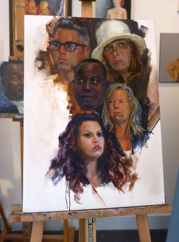 Portrait Mashup - Work in Progress second step