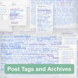 Wordpresss Plugin: Post Tags and Archive