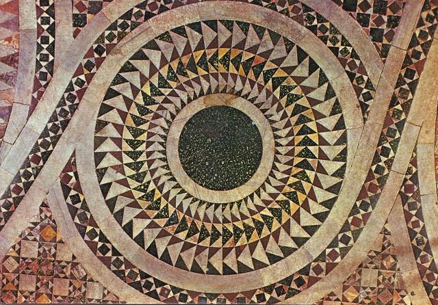 Floor pattern - St Mark's Basilica 14th century