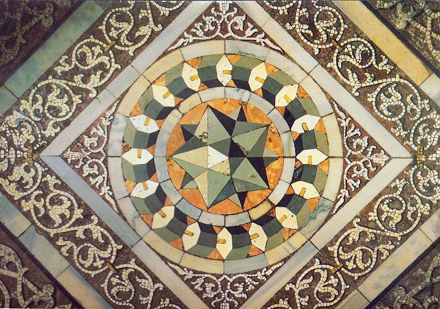 Floor pattern - St Mark's Basilica 3