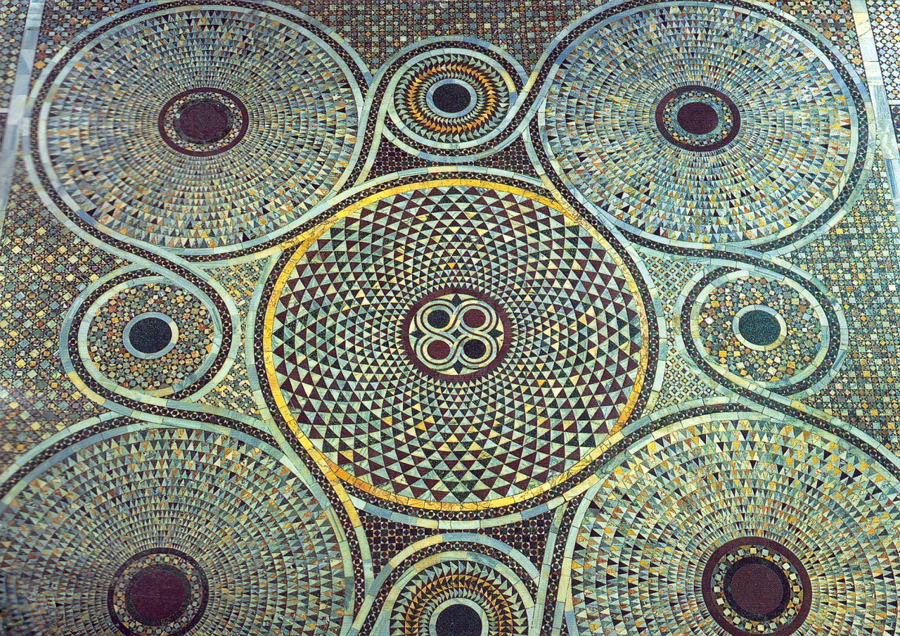 Patterns in famous art - photo#4