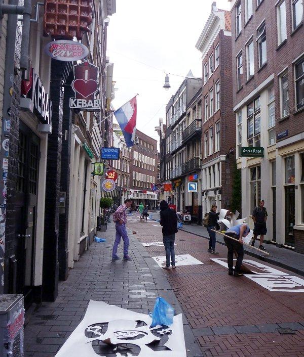 Amsterdam Art Project - Warmoestraat
