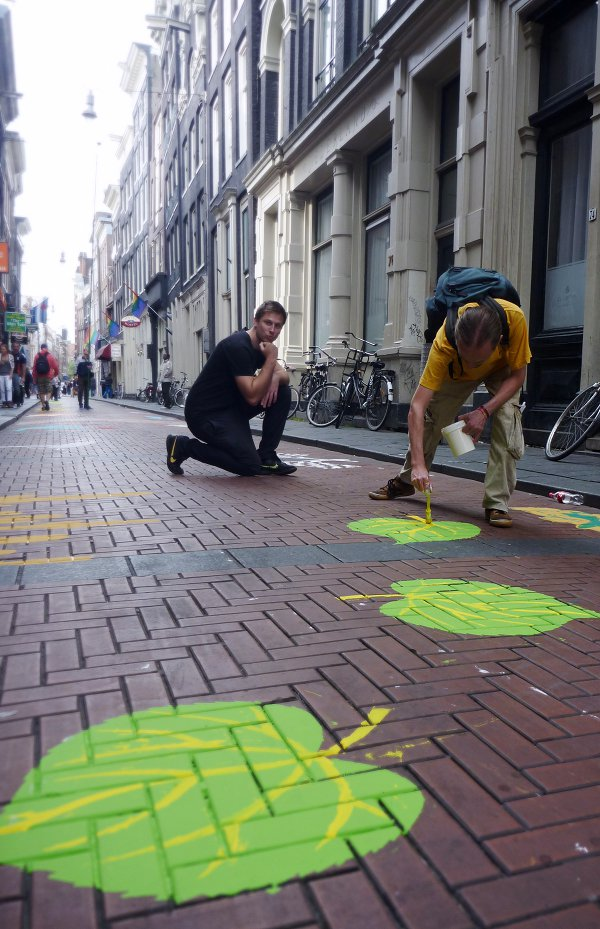 Amsterdam Art Project - Warmoestraat