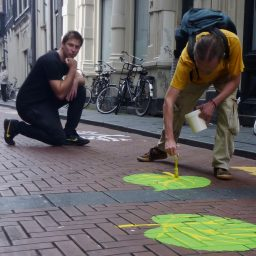 Street-Art Project on Amsterdam's Warmoestraat