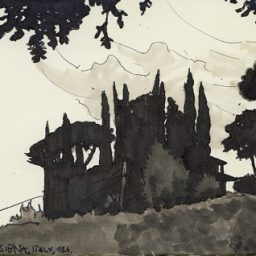Sketching Through Tuscany