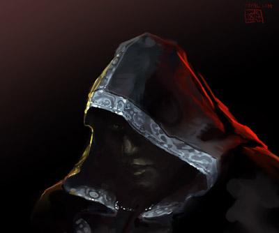 Mysterious character Portrait