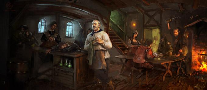 Tavern Inn Keeper