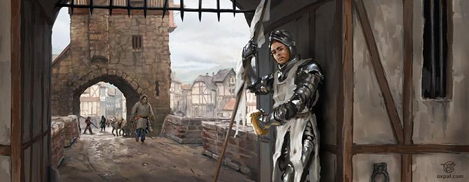 Medieval Gate Keeper