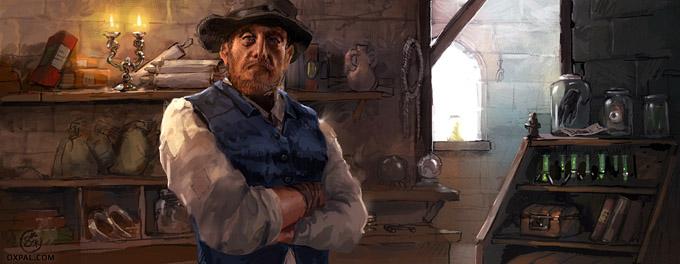 Medieval Trades-man