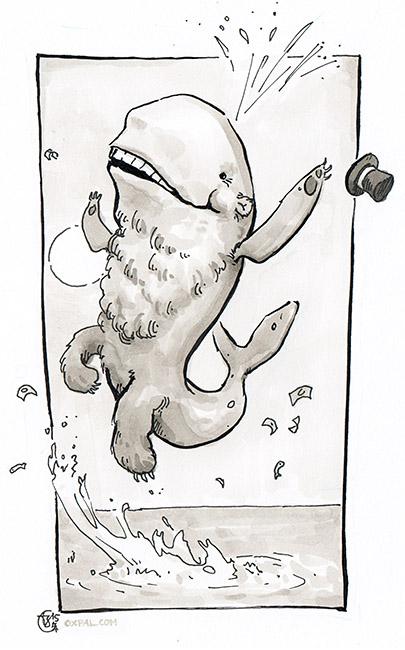 Bearwhale Comic