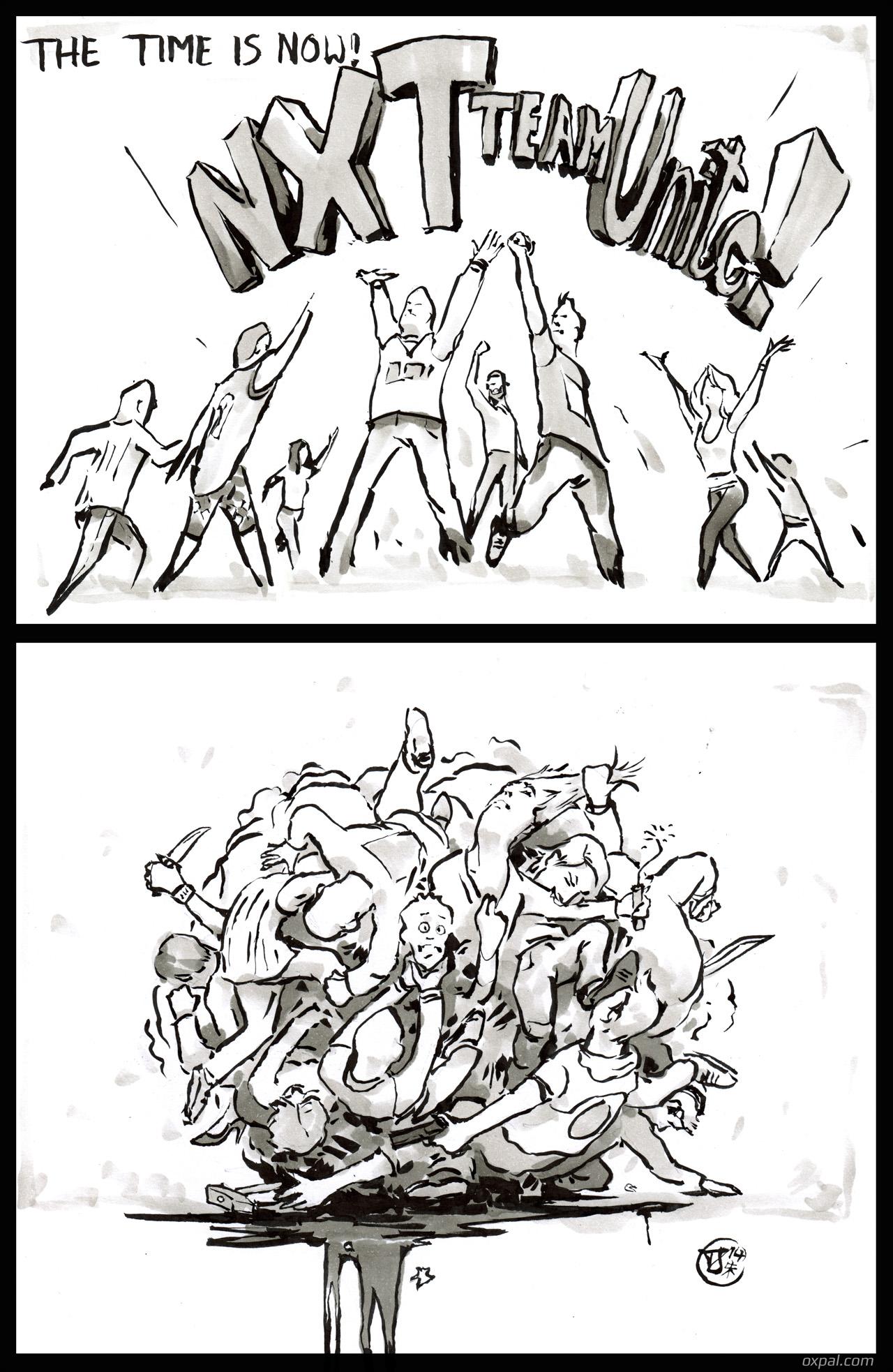 Nxt comic