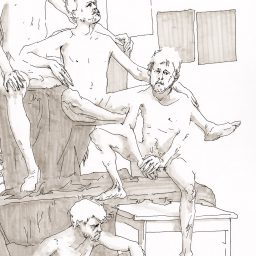 Figure Drawing in Amsterdam – Thomas Schmall