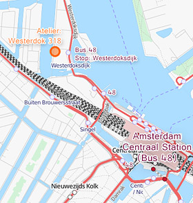 Westerdok Address Map