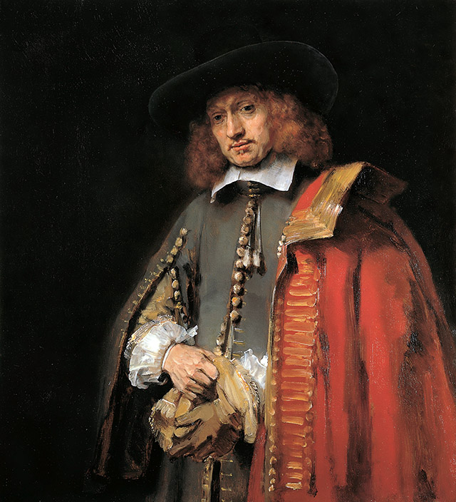 Jan Six - painting- Rembrandt van Rijn