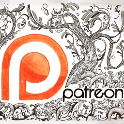 It's Lift-Off for my Patreon Line Art Project
