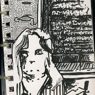 2007 ink sketchbook