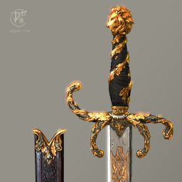 The Beauty and the Beast Movie Sword
