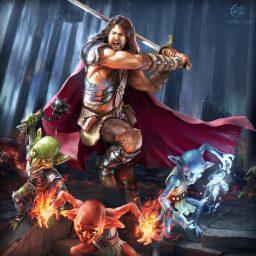 Goblin-packed Fantasy Illustration