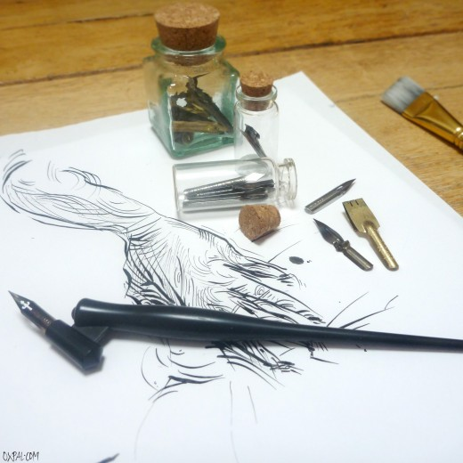 Ink Materials - Oblique