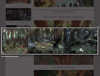 lightbox for image links
