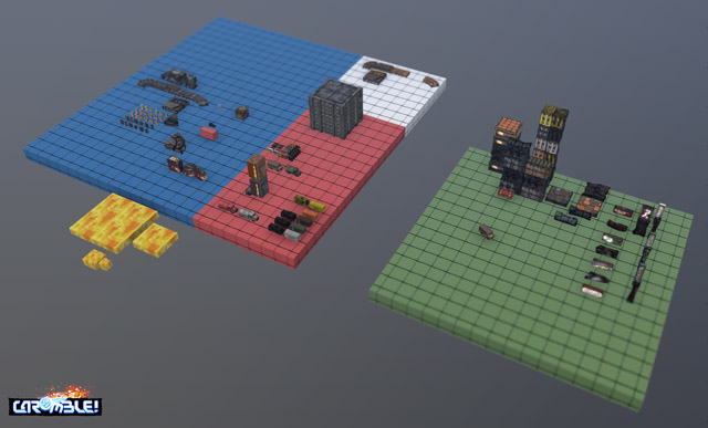 3D blockouts overview