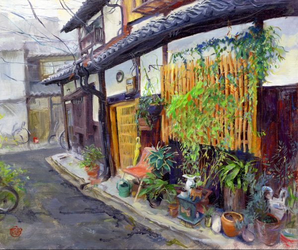 Kyoto Traditional House Painting