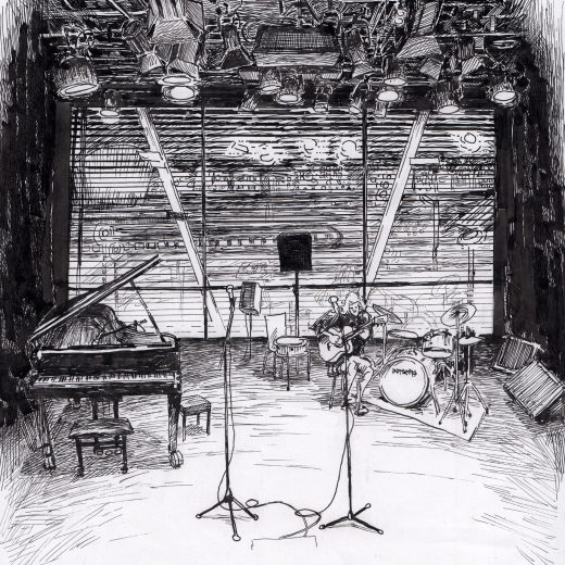 Ink Drawing Jazz