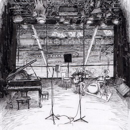 Ink Drawing Jazz