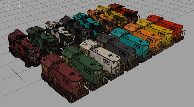 Train Generated Colors