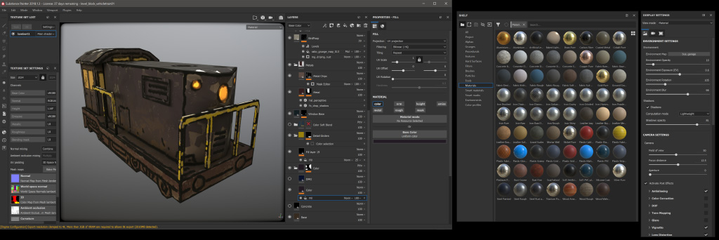 Substance Painter Program Window