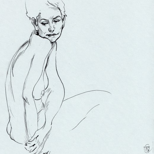Figure Drawing Maryam