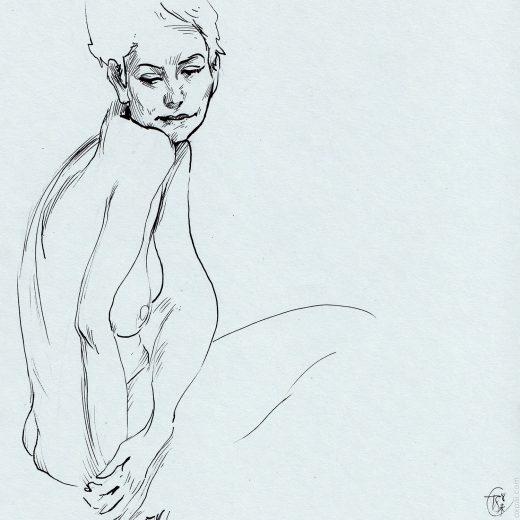 Figure Drawing Maryam
