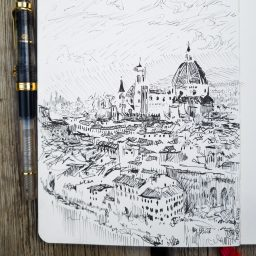 Italian-German Travel Sketches