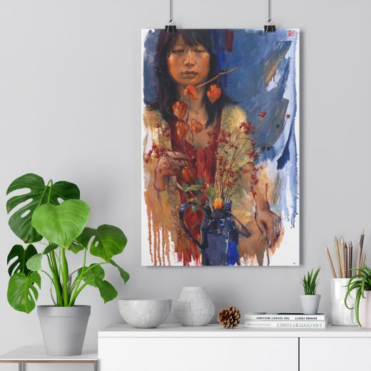 Ji Hae Printed Poster